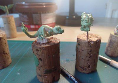 Ignisaur sculpt