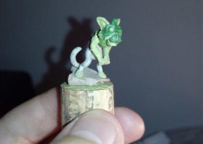 Luxcelot Kitten sculpt WIP 2