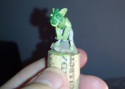 Luxcelot Kitten sculpt WIP