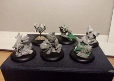 The first 6 finished sculpts