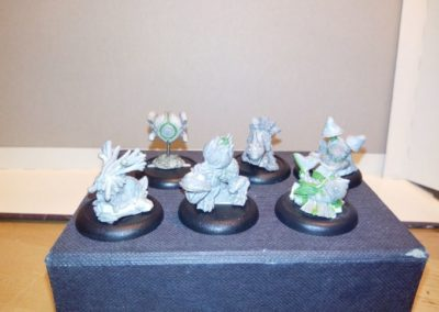 The first finished sculpts 2